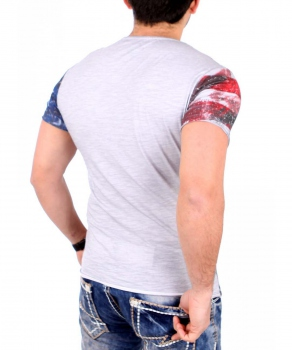 T-shirt homme gris ANIMALS  486