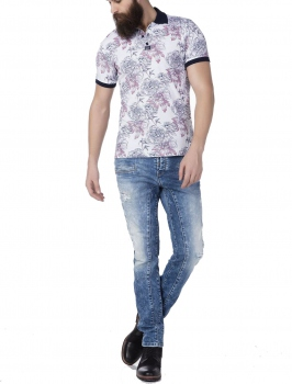 Polo homme FLOWER