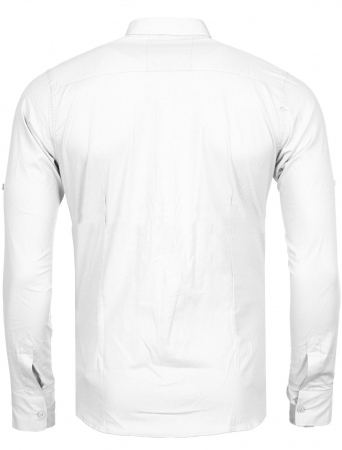 Chemise homme italienne blanc biony 6202 - Chemise homme fashion coupe italienne cintree ...