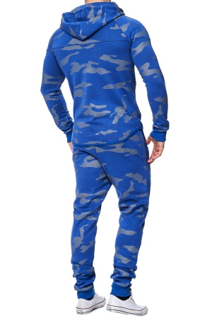ensemble jogging homme camp bleu 658