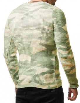 Pull homme camouflage owod 343