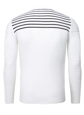 Pull homme  blanc RAYUS 590