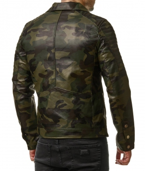 perfecto homme camouflage