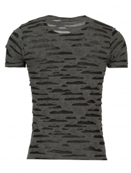 T-shirt homme Relief gris 186