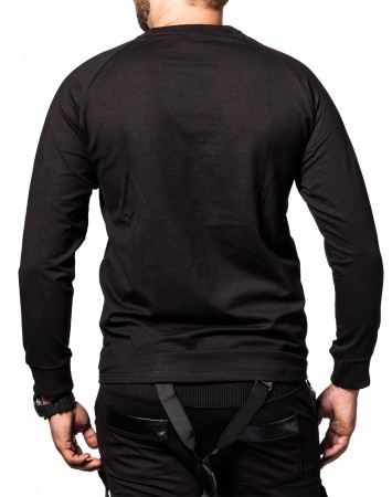 Pull homme noir saturday 336