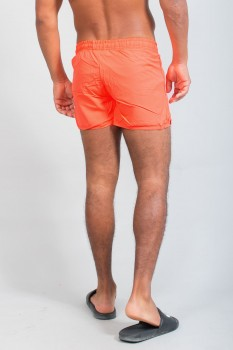 short de bain homme orange fluo 624