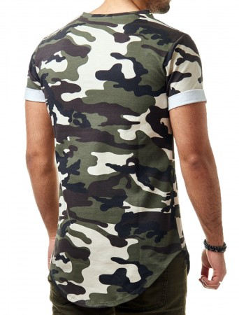 T-shirt homme camouflage 1280