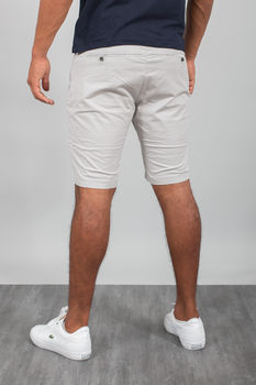 bermuda homme chino gris 67059