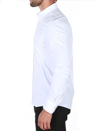 chemise italienne homme blanche 863