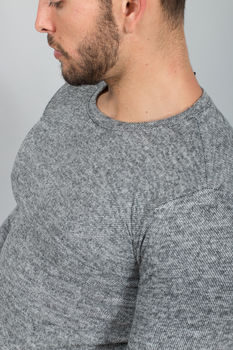 Pull  homme gris 7136