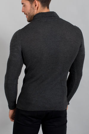 pull homme gris smoke  1650