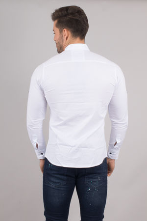 chemise homme blanche 6178
