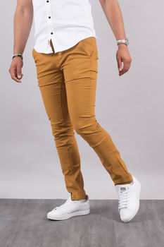 Chino homme camel 5660 C