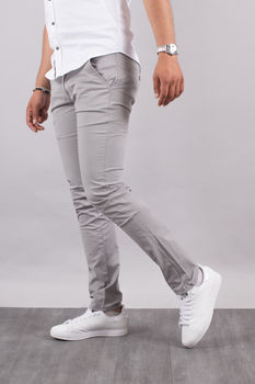 Chino homme gris  5710 G