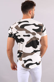 T-shirt homme camouflage 1870