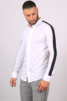 chemise homme blanche C02
