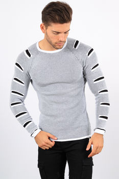 pull homme blanc 1603