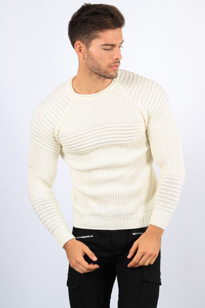 pull homme blanc 0042