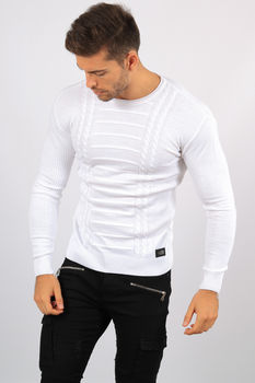 pull homme blanc 5917