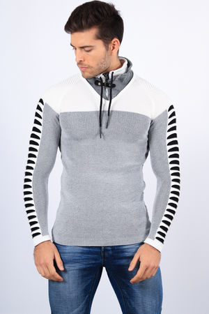 pull homme stylé blanc  2200