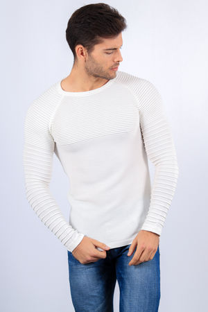 pull homme blanc 2148