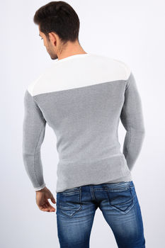 pull homme blanc 2201