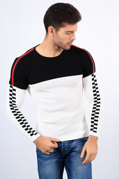 pull homme blanc 2199