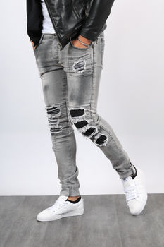 jeans homme gris Manille 1505
