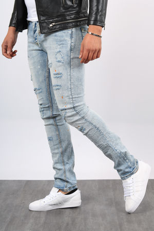jeans homme clair destroyers 1151