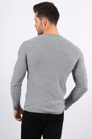 pull homme gris clair 1926