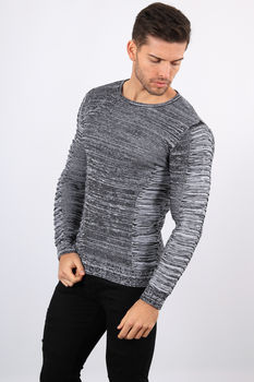 pull homme gris 3052
