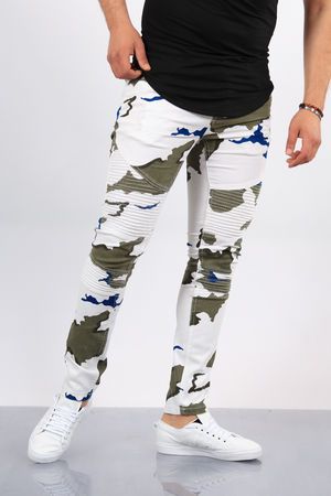jeans homme camouflage 1513