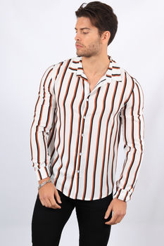 chemise homme fluide blanche 6810