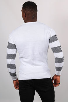 Pull homme blanc 5235