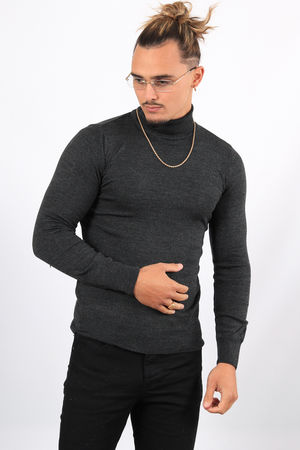 Pull homme col roulé antra AHR