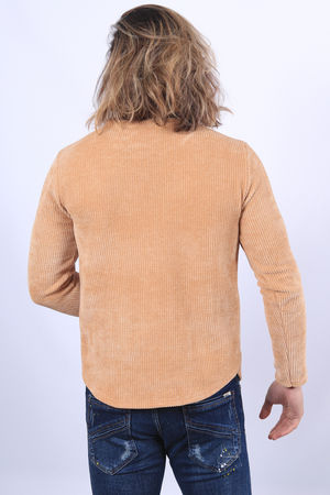 Pull homme camel 670