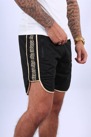 Ensemble t-shirt + short  blanc /gold  87/2