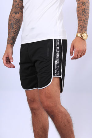 Ensemble t-shirt + short  blanc /silver   88/2