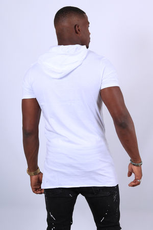 t-shirt homme blanc oversize 2642