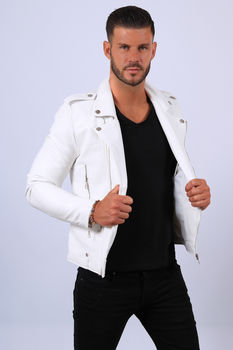 Perfecto homme blanc  88591
