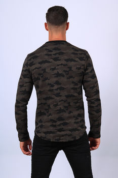 Pull homme camo up 705