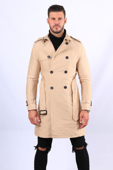 Trench homme beige HP035