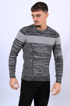 Pull homme gris JH07