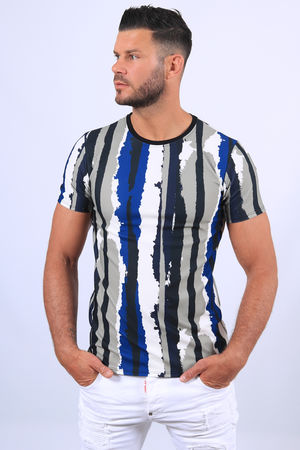 T-shirt homme graphic 789