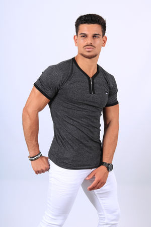 T-shirt homme 2188 gris antra