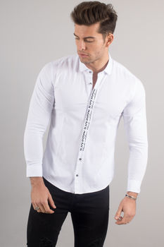 chemise italienne homme blanche 3325
