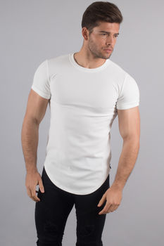 T-shirt homme oversize blanc 211