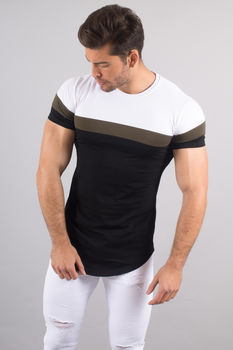 T-shirt homme oversize blanc 1836