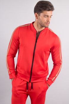 ensemble jogging homme rouge upg