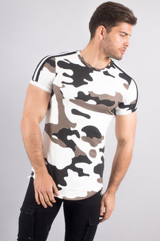 T-shirt homme oversize camouflage 1870